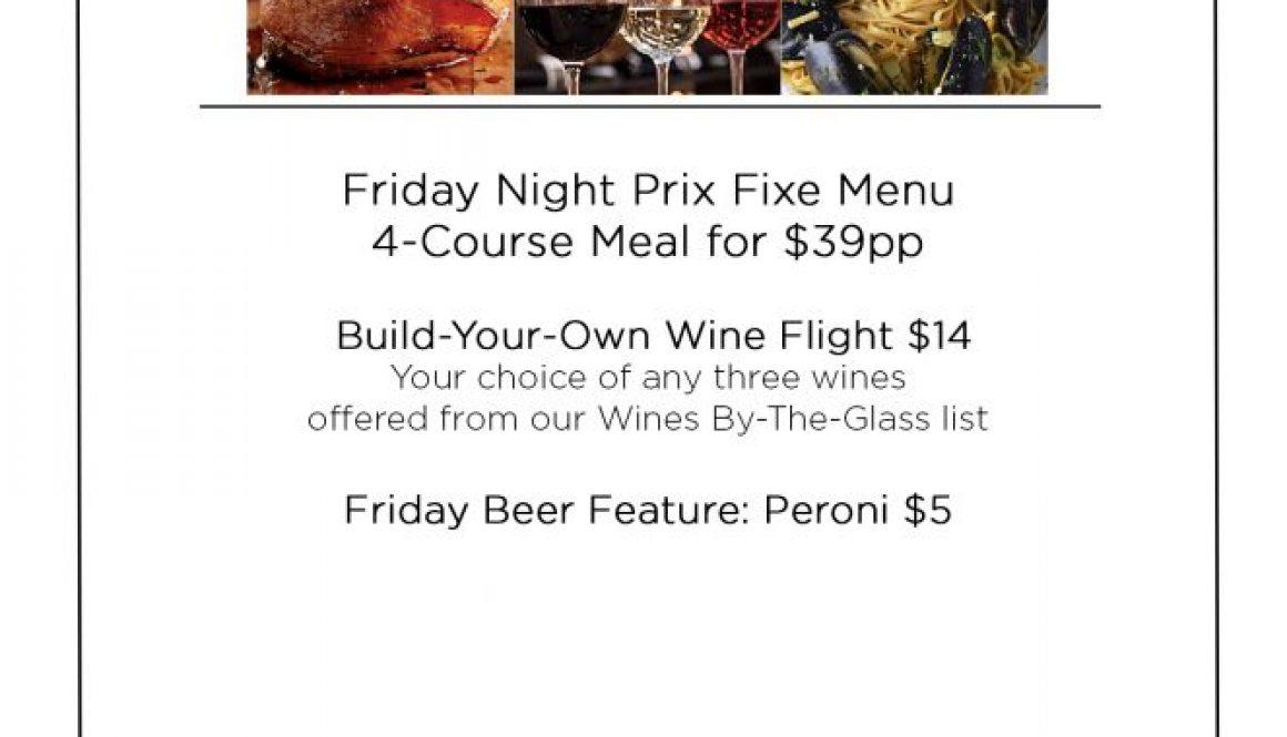 Primo Friday Specials